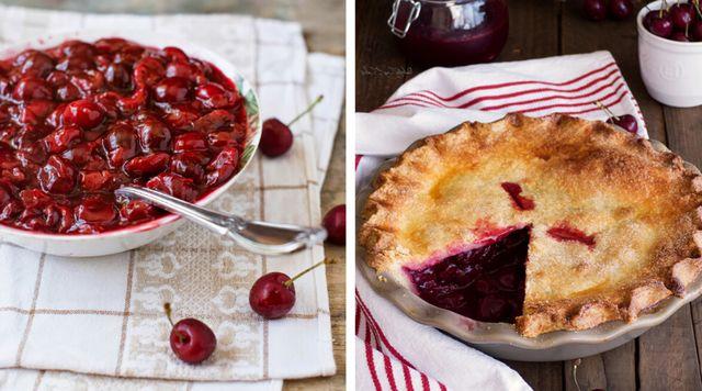 Como hacer tarta de cerezas o picotas