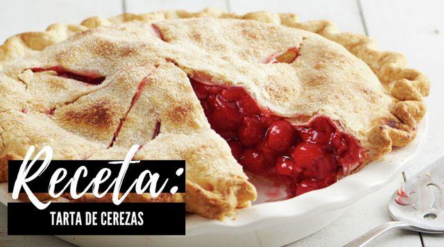 Receta de Tarta de Cerezas Casera